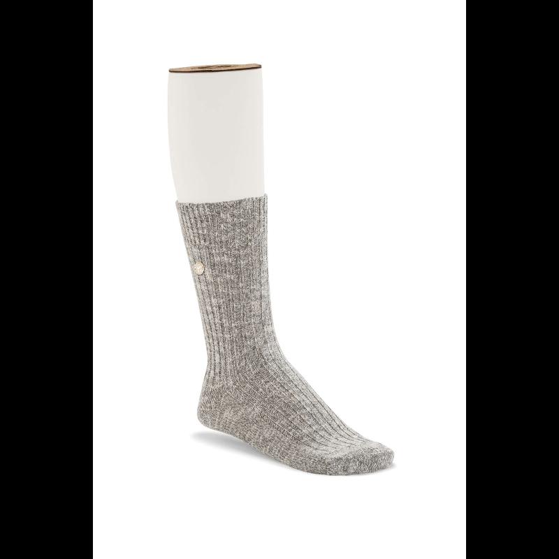Cotton Slub Gray White Women Socks 1008032-1600×1600