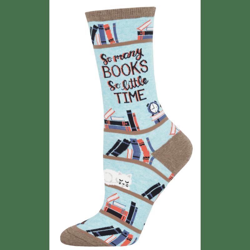 Socksmith Time For A Good Book Hemp Heather-min